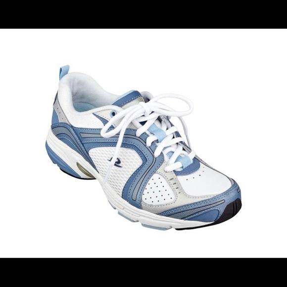 Euc Zamper Leather Walking Shoe